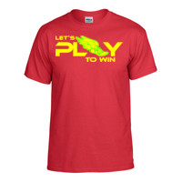 Let's play to win - Jouons pour gagner - T-shirt Gildan coupe européenne, manches courtes col rond - Collection LET