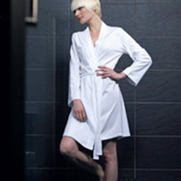 Women's wrap robe