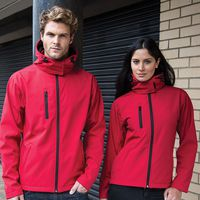 Core TX performance hooded softshell jacket