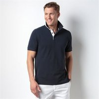 Club style slim fit polo