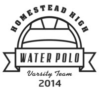 Water Polo Template DNT001 BW