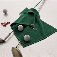 Luxury range golf towel